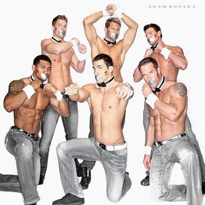 Chippendales Spice Up NOH8 Campaign - click to enlarge picture