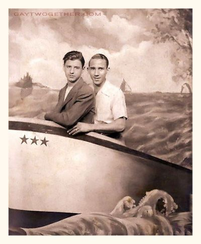 Vintage Photo Memories - Men Twogether - GAYTWOGETHER.COM - click to enlarge
