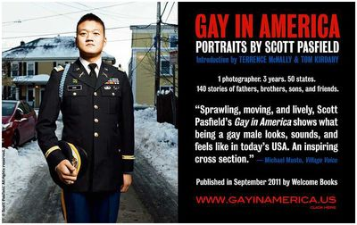 Photographer Scott Pasfield's New Book: Gay In America: He Asked, They Told