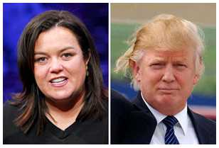 Rosie Dumps Trump After GLAAD Calls For Boycott Against Trump's Businesses