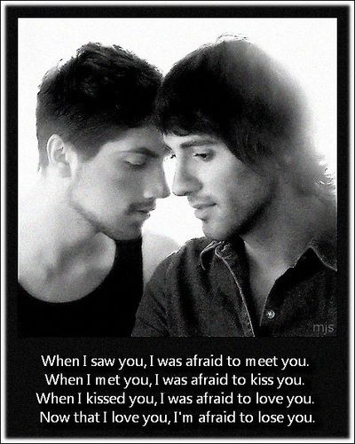 Picture This Thought: Our Love - GAYTWOGETHER.COM - click to enlarge