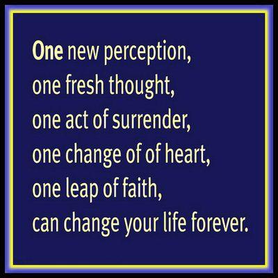 One new perception 2