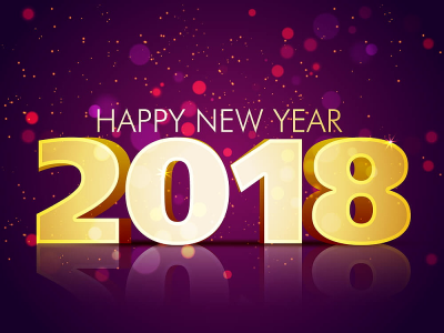 Happy New Year! - 2018 - Wishing you a year of endless possibilities!