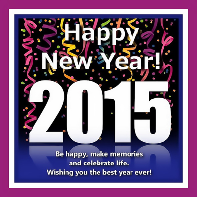 Happy New Year 2015 - Wishing you a year of endless possibilities! - GAYTWOGETHER.COM - (click to enlarge)