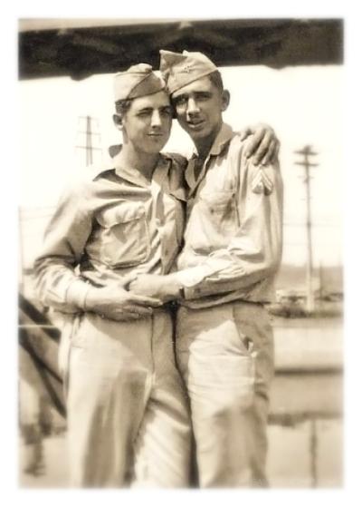 Vintage Photo Memories - Men Twogether
