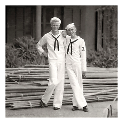 Vintage Photo Memories - Men Twogether - GAYTWOGETHER.COM - click to enlarge