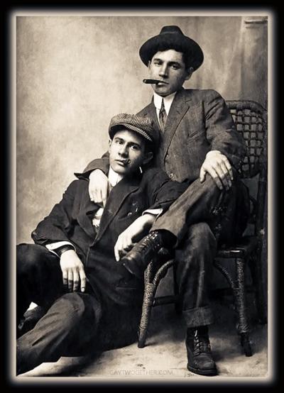 Vintage Photo Memories - Men Twogether - Gallery
