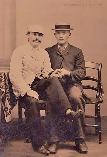 Vintage Photo Memories - Men Twogether - CLICK TO ENLARGE