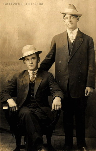 Vintage Photo Memories - Men Twogether - CLICK TO ENLARGE