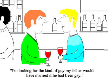 Overheard At The Local Gay Bar - GAYTWOGETHER.COM