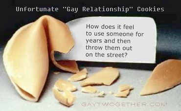 Unfortunate Gay Relationship Cookies - JUST4JDD - GAYTWOGETHER.COM