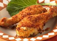 Dinner For Two: Crispy Garlic Oven Baked Chicken