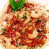Dinner For Two: Angel Hair Pasta with Shrimp and Basil
